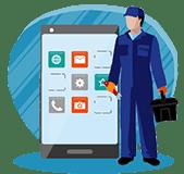 آموزش تعمیرات نرم افزارموبایل