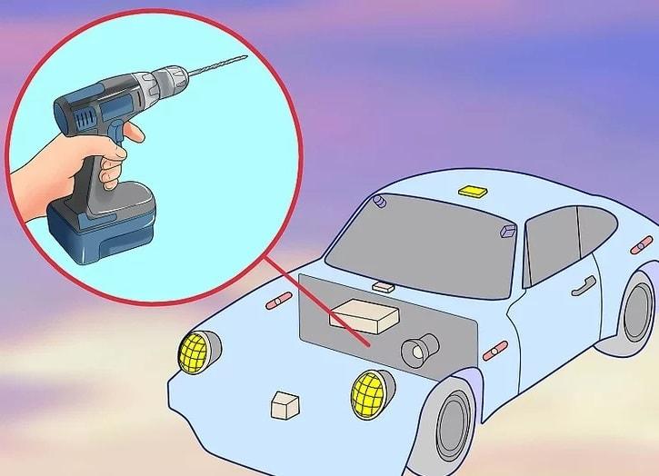طریقه نصب دزدگیر خودرو