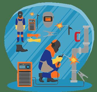 آموزش جوشکاری برق (SMAW)