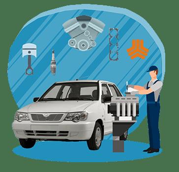 آموزش تعمیر موتور پراید و پیکان