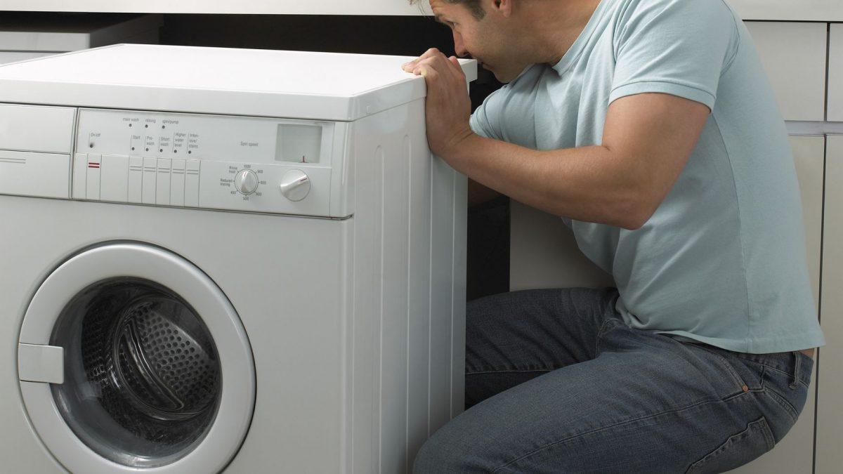 تخلیه نشدن آب ماشین لباسشویی