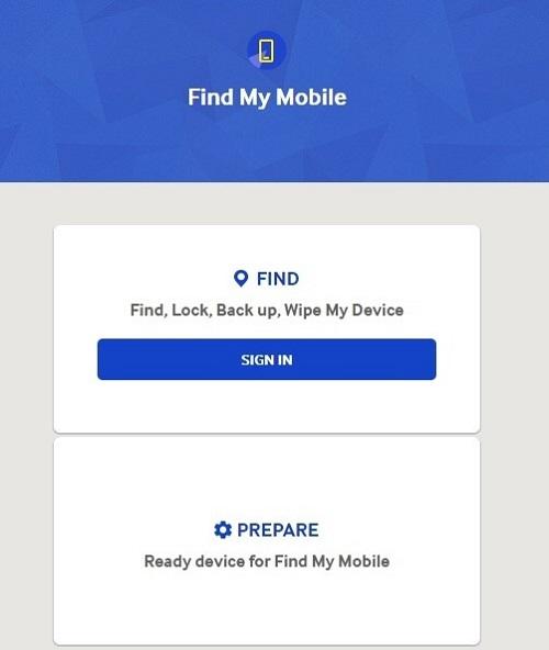 موبایلم را پیدا کنید