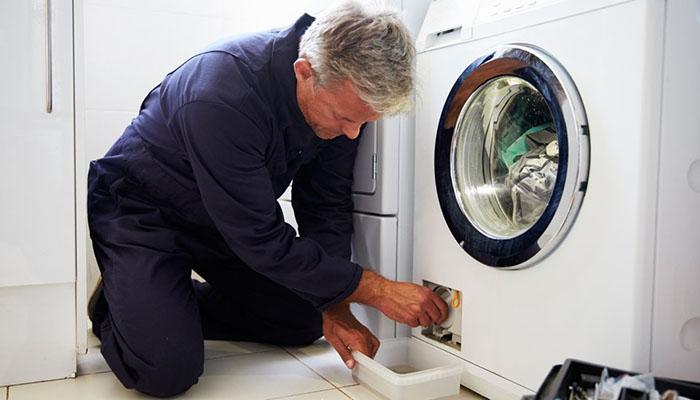 علت تخلیه نشدن آب لباسشویی