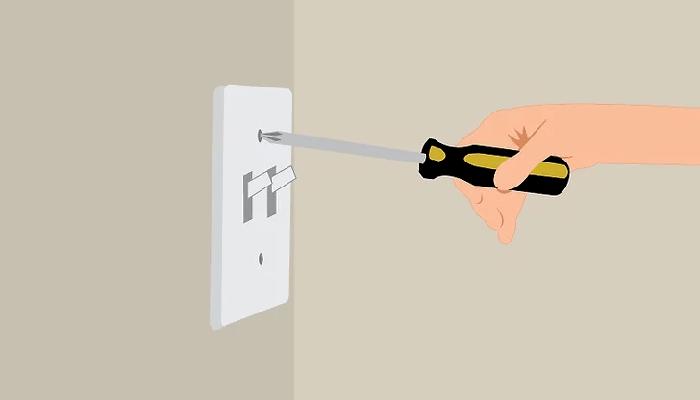 سیم کشی کلید