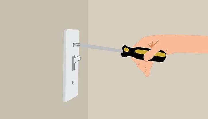 سیم کشی کلید دو پل